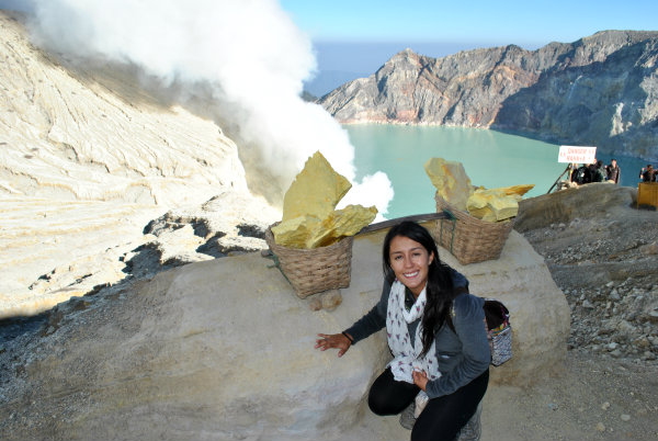 Visiting Kawah  Ljen Crater Indonesia